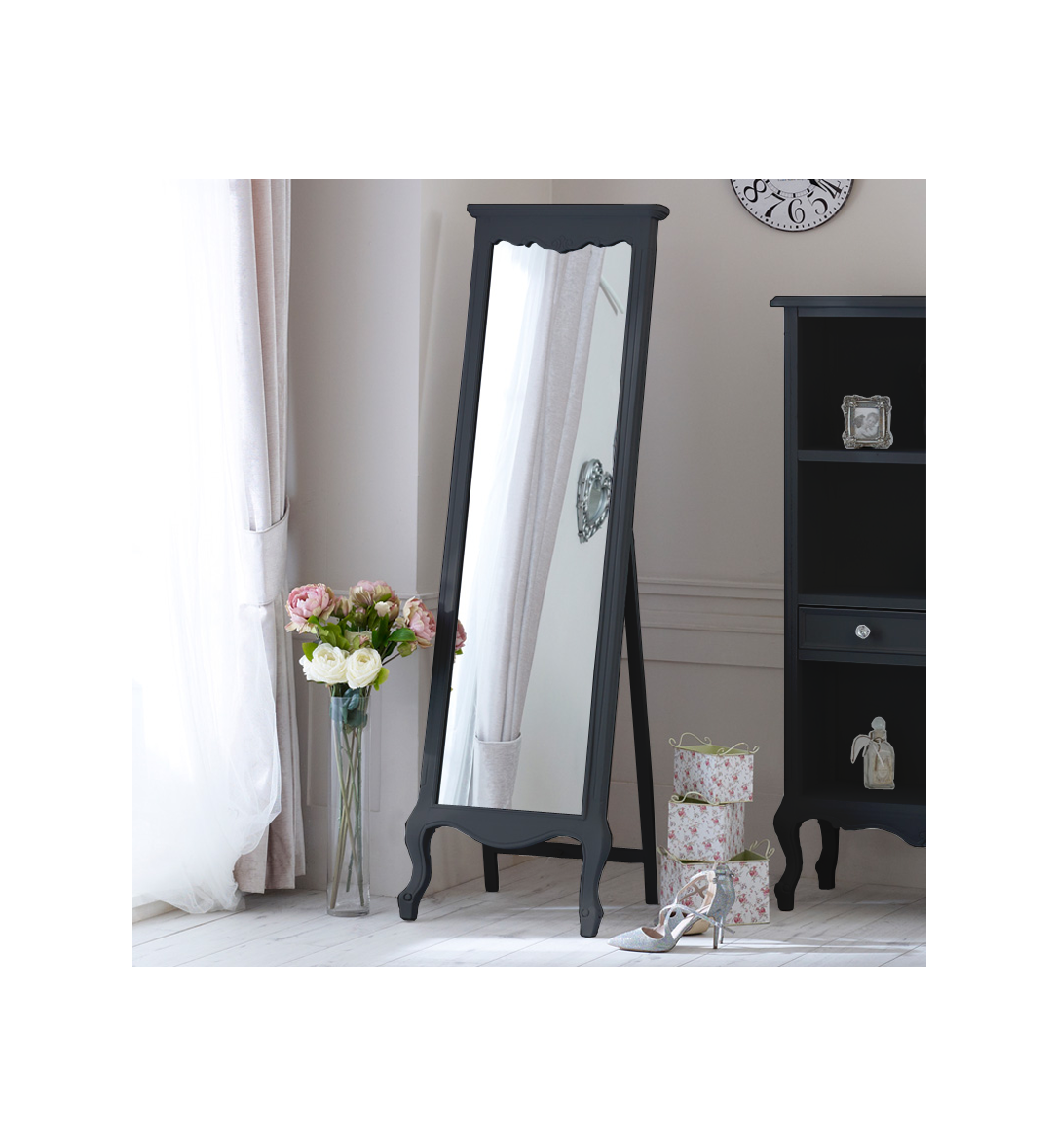 Home Decorative Thalo Standing Long Mirror for Living Room ...